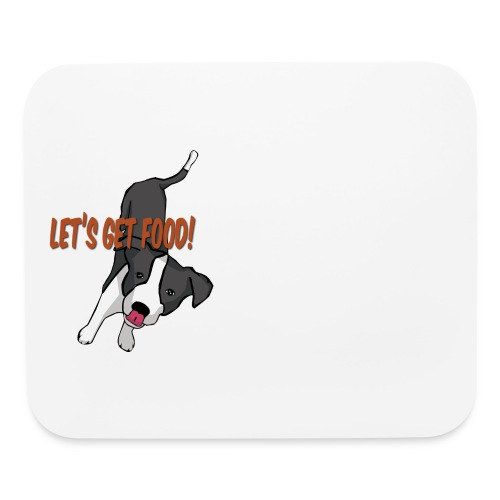 Foodie Dog Border Collie - Mouse pad Horizontal