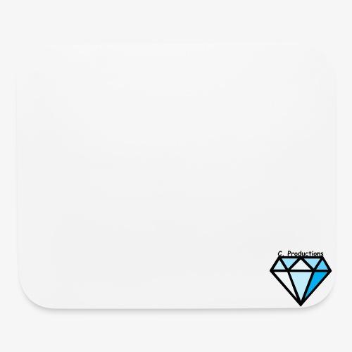 C. Productions Diamond Logo - Mouse pad Horizontal