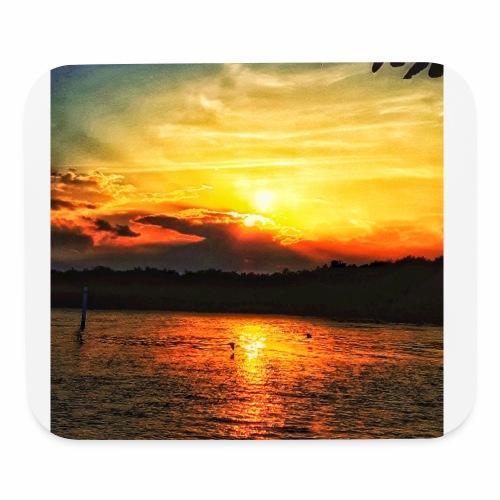 Sunset on paradise - Mouse pad Horizontal