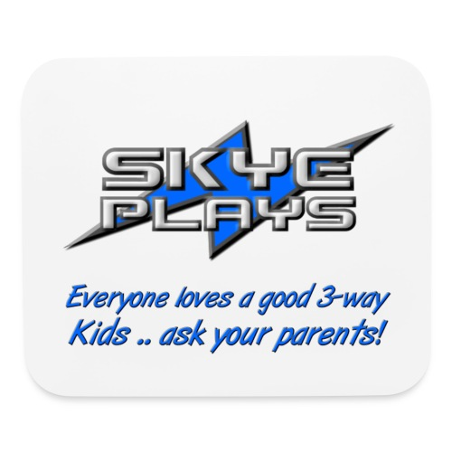 Skye Plays KAYP Blue 800ppi png - Mouse pad Horizontal