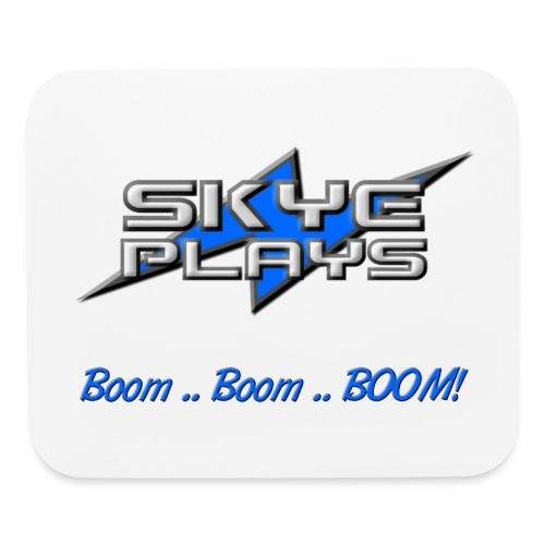 Skye Plays BBB Blue 800ppi png - Mouse pad Horizontal
