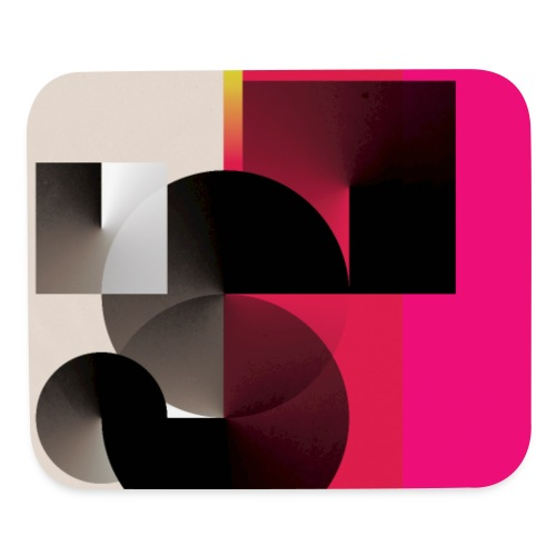 Abstract Cone Gradients - Mouse pad Horizontal