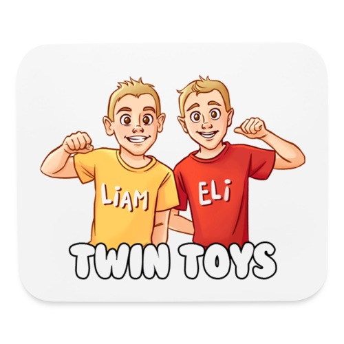 twin toys - Mouse pad Horizontal