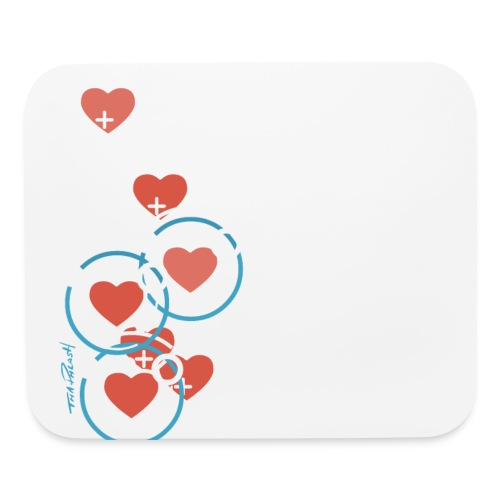 SuperHearts - Mouse pad Horizontal