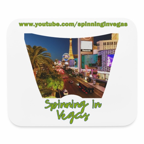 Spinning in Vegas Clothing Line - Mouse pad Horizontal