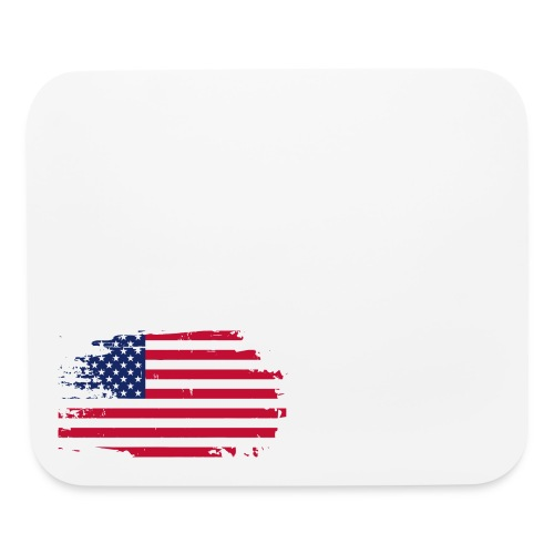 usa america american flag - Mouse pad Horizontal