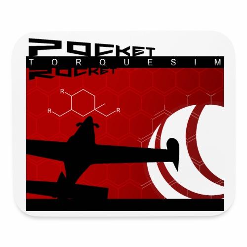 Pocket Rocket Mousepad - Mouse pad Horizontal