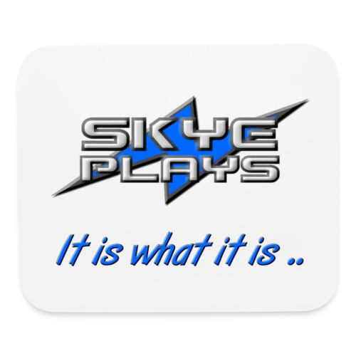 Skye Plays IIWII Blue 800ppi png - Mouse pad Horizontal