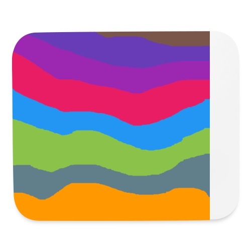 Disconnected Colors - Mouse pad Horizontal