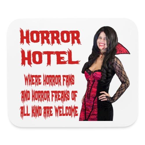Horror Hotel - Tagline - Mouse pad Horizontal