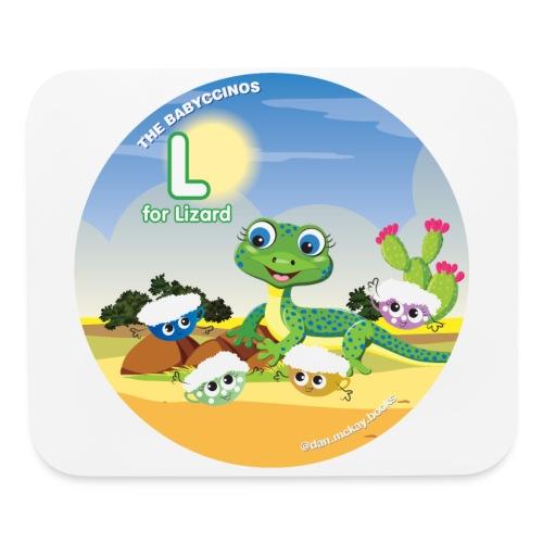 Babyccinos Alphabet Letter L - Mouse pad Horizontal