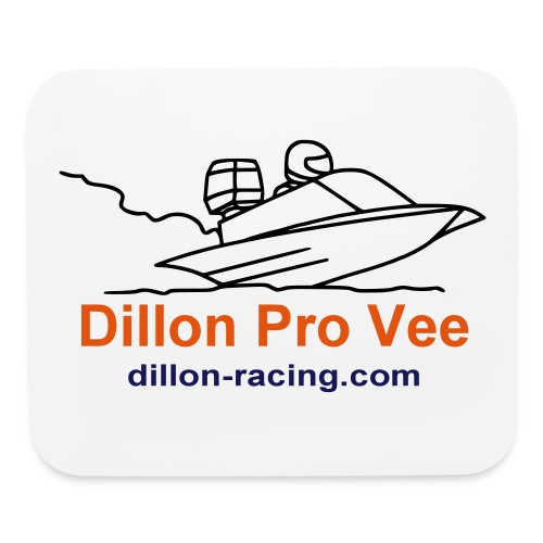 pro-vee-outline - Mouse pad Horizontal