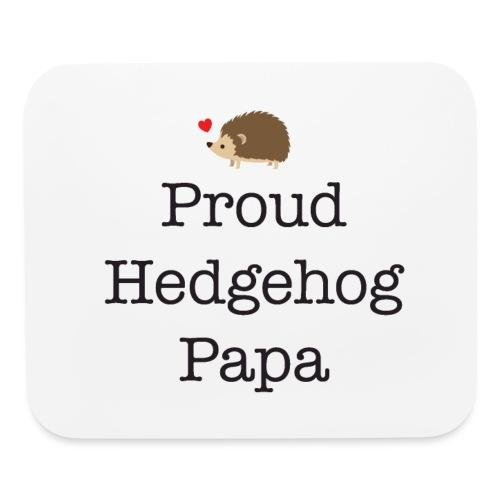 Proud Hedgehog Papa - Mouse pad Horizontal