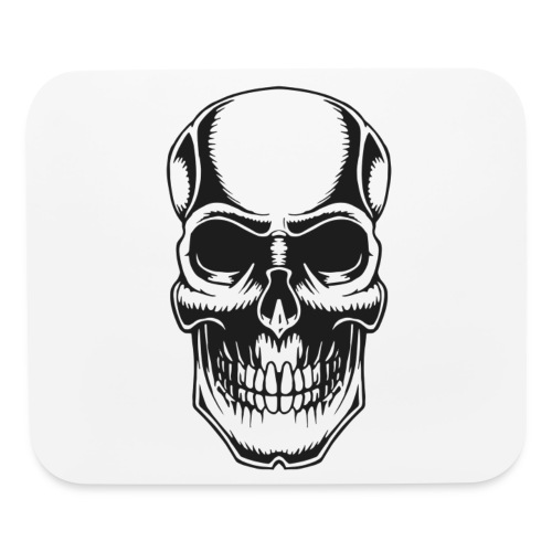 Skull Vintage Tattoo - Mouse pad Horizontal