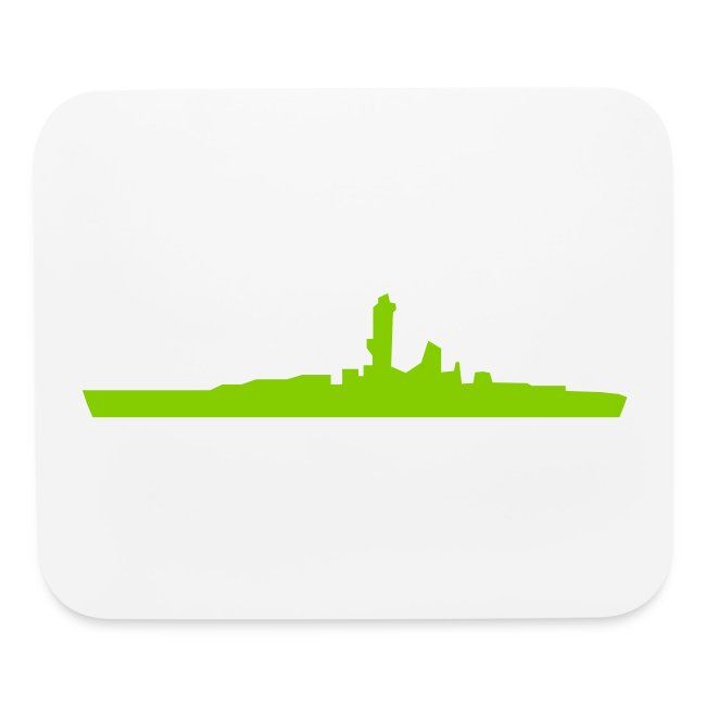 Axis & Allies mouse pad -- Battleship