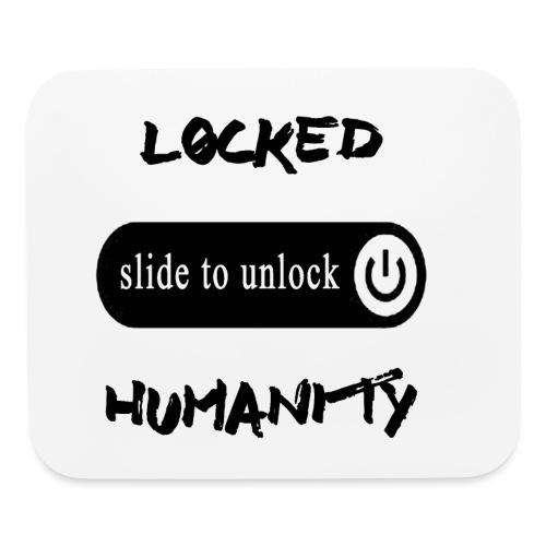 Locked Humanity - Mouse pad Horizontal