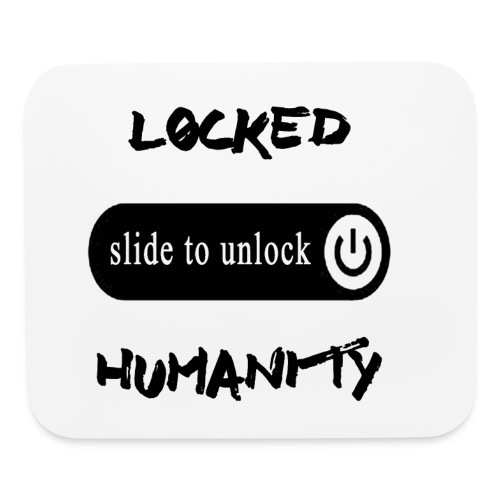 Locked Humanity - Mouse pad Horizontal