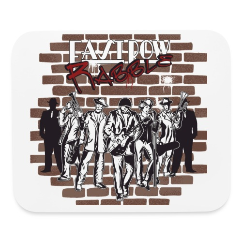 East Row Rabble - Mouse pad Horizontal