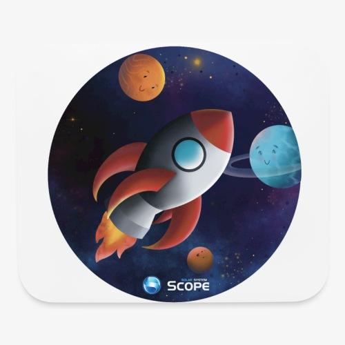 Solar System Scope : Little Space Explorer - Mouse pad Horizontal