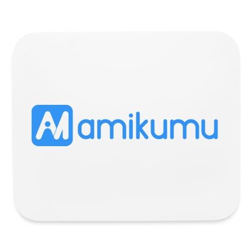 Amikumu Logo Blue - Mouse pad Horizontal