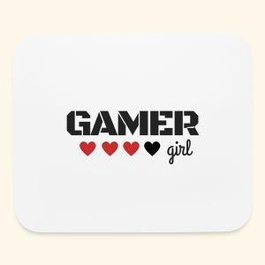 Gamer Girl - Mouse pad Horizontal
