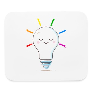 Lighten Up - Mouse pad Horizontal