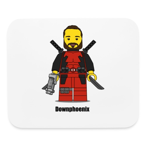 Downphoenix Character Logo - Mouse pad Horizontal