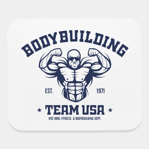 bodybuilding fitness gym - Mouse pad Horizontal