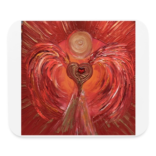 Heartangel of self-worthiness - Mouse pad Horizontal