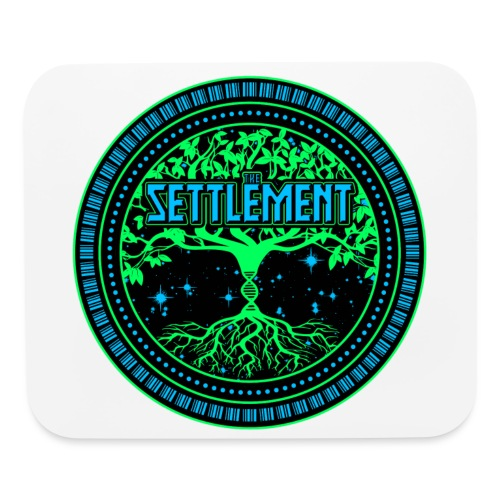 Full Color Logo | The Settlement - Mouse pad Horizontal