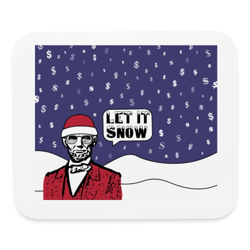 Let It Snow - Mouse pad Horizontal