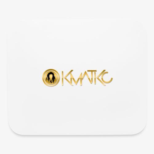 KMATiKC Gold Logo - Mouse pad Horizontal