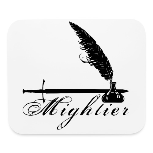 mightier - Mouse pad Horizontal