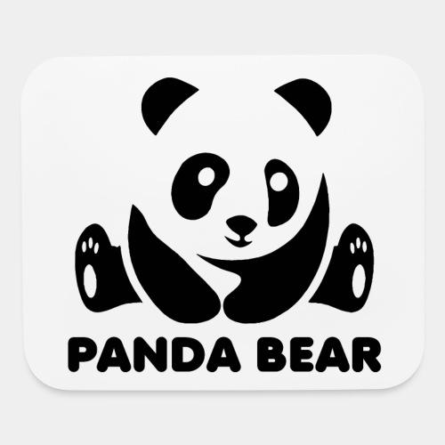 panda bear - Mouse pad Horizontal