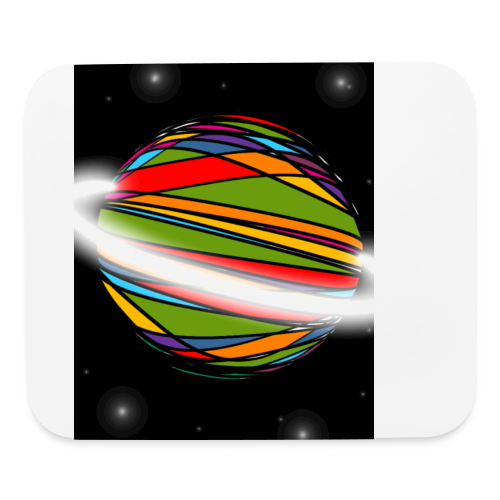 Planet steller - Mouse pad Horizontal