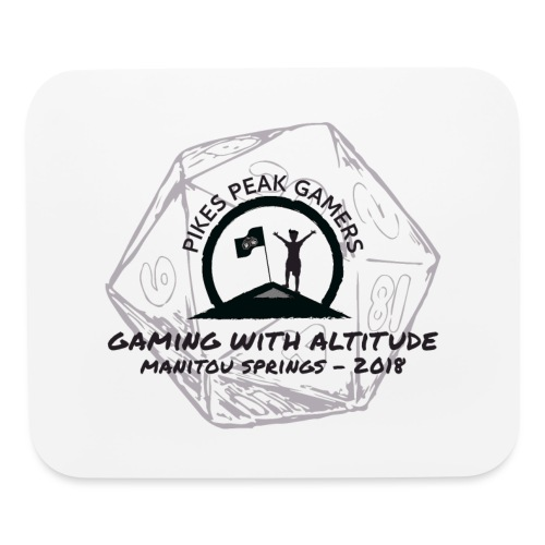 Pikes Peak Gamers Convention 2018 - Accessories - Mouse pad Horizontal
