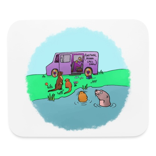 Sleve and the River Otters - Mouse pad Horizontal