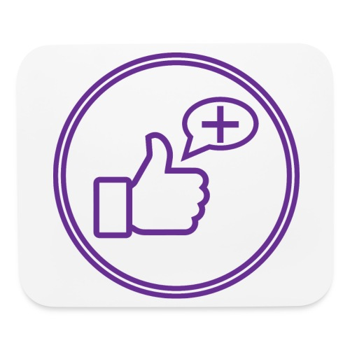 Stay Positive Icons - Mouse pad Horizontal