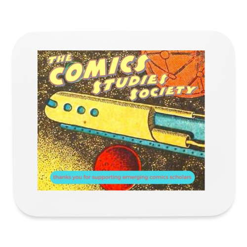 thanks you for supporting emerging comics scholars - Mouse pad Horizontal