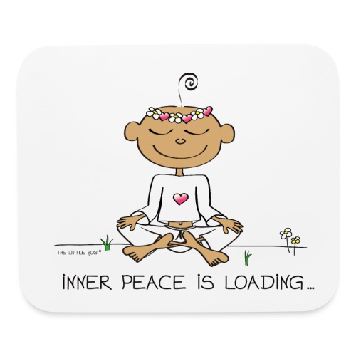 Inner Peace is Loading - Mouse pad Horizontal