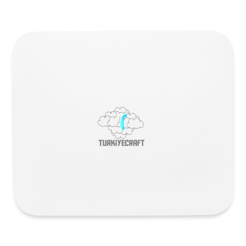 TurkiyeCarft Cloud Logo - Mouse pad Horizontal