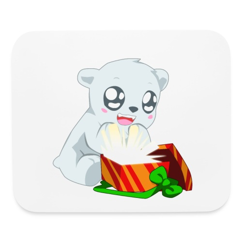 Holiday Polar Bear - Mouse pad Horizontal