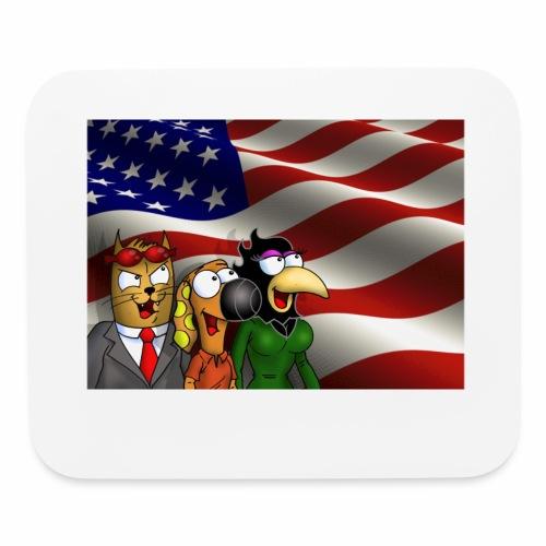 Rantdog Crew America - Mouse pad Horizontal