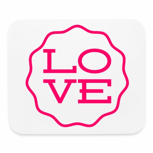 love design - Mouse pad Horizontal