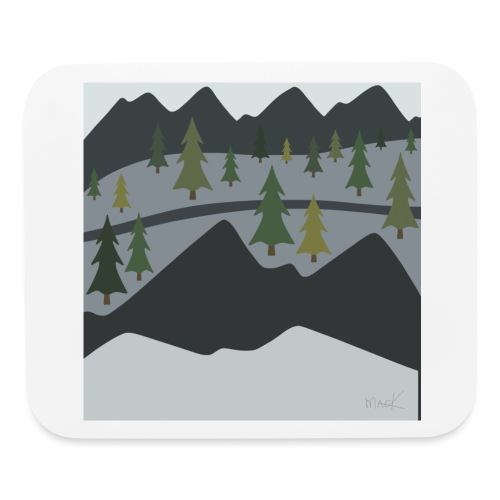 Scenic View - Mouse pad Horizontal