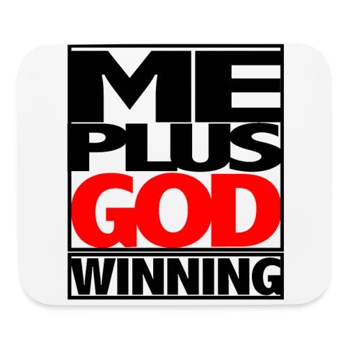 ME GOD WIN - Mouse pad Horizontal