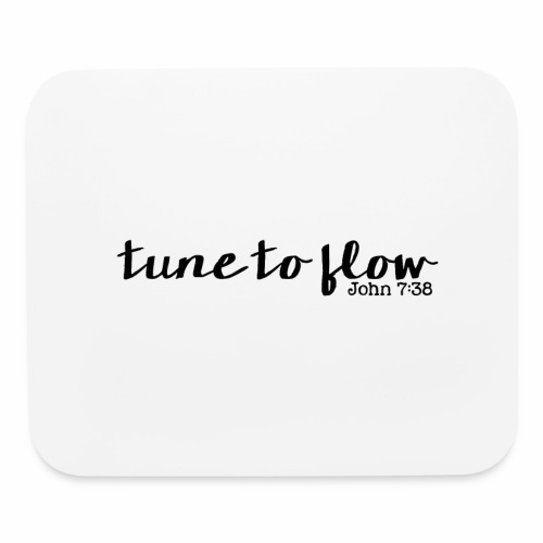 Tune to Flow - Design 1 - Mouse pad Horizontal