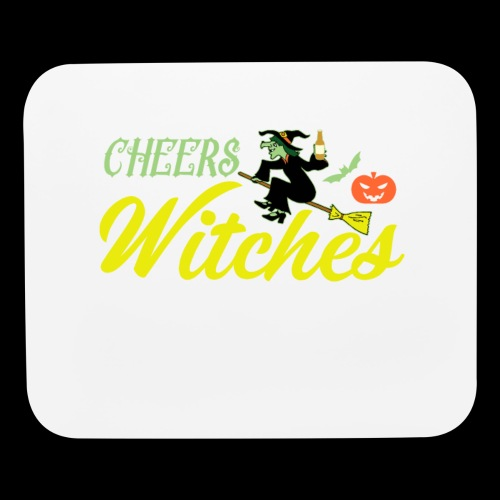 Cheers Witches! | Halloween Drinks - Mouse pad Horizontal