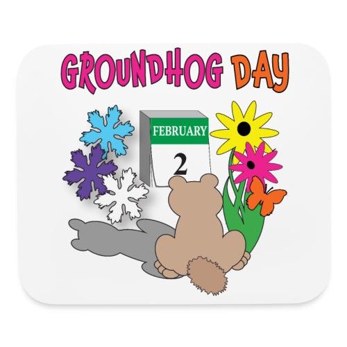 Groundhog Day Dilemma - Mouse pad Horizontal
