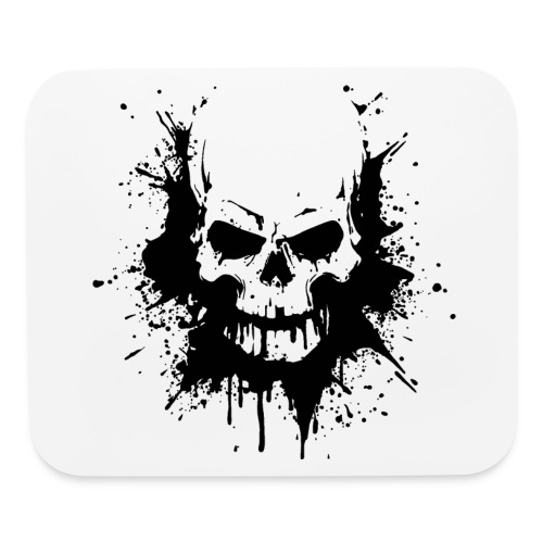 skull and bones - Mouse pad Horizontal